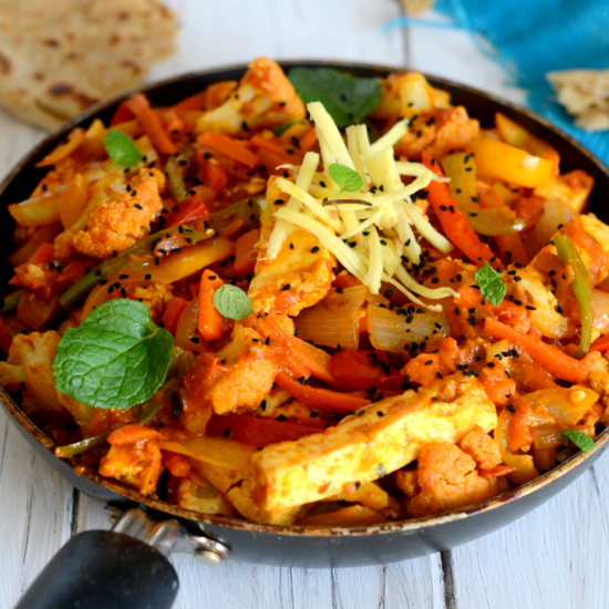 Vegetable jalfrezi indian style stir fry yummily yours forumfinder Gallery