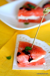 Watermelon Sandwiches