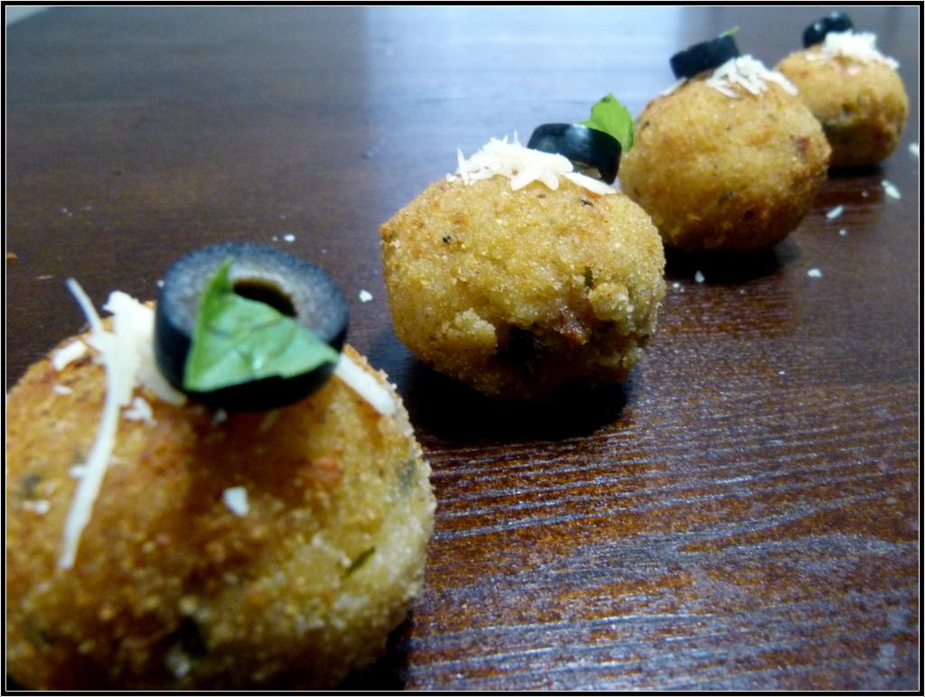 BAKED/FRIED ARANCINI | ITALIAN RICE BALLS